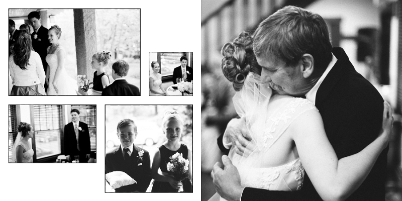 Wedding Album Pages 39 and 40