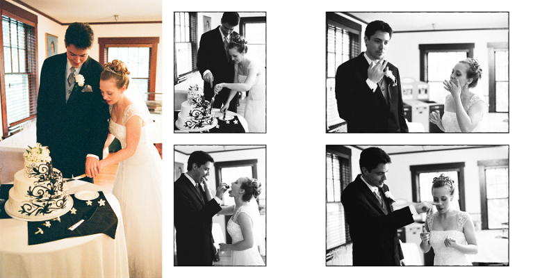 Wedding Album Pages 43 and 44