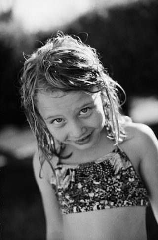 Documentary portrait of a six year old girl