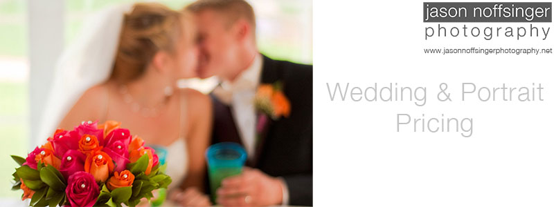 Wedding and Portrait Pricing