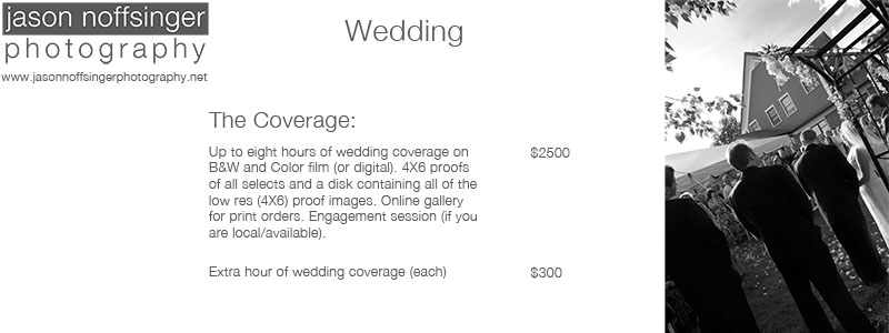 Wedding Coverage Pricing
