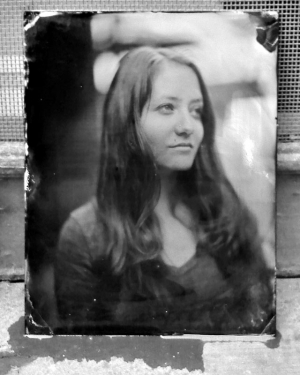 Wet Plate Collodion portrait by Mark Sink and Kristen Hatgi