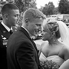 Bridal Party Celebrates